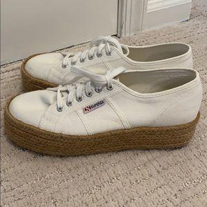 Women's Superga Platform Sneakers-Great condition